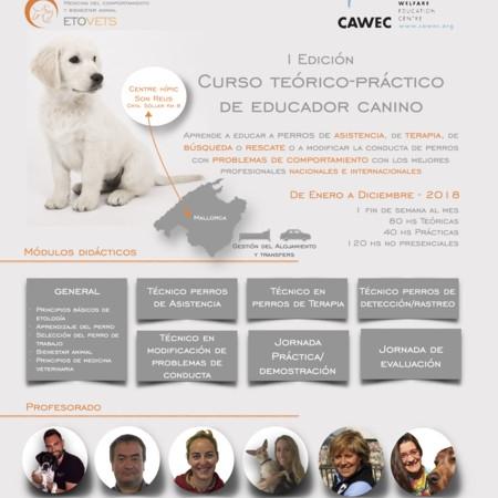 I Edición del Curso Teórico-Práctico de Educador Canino (Enero - Diciembre 2018)